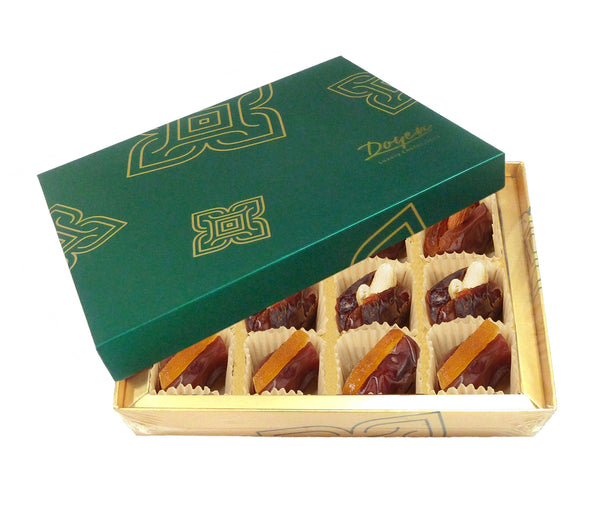 Turquois Collection Box<br> Assorted Filled Dates