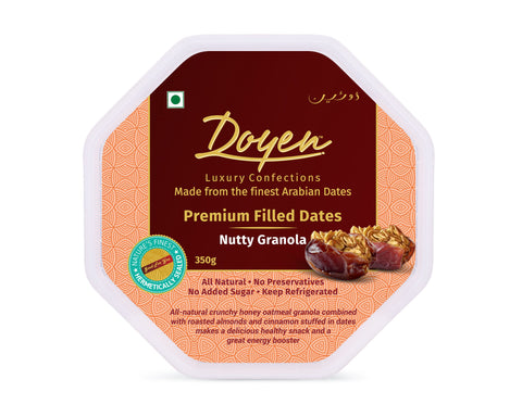 Nutty Granola Dates