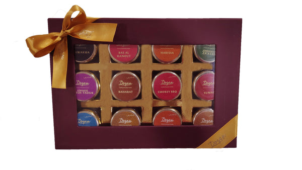Exclusive Spices & Seasonings Gift Box
