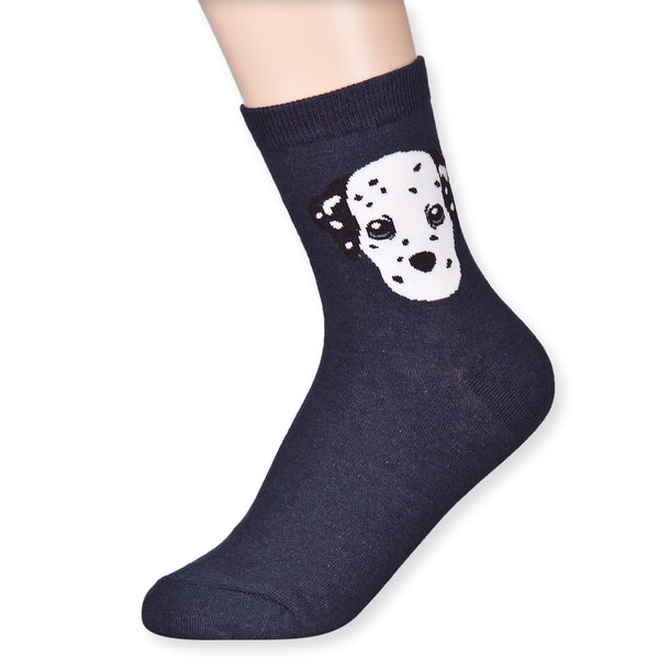 Dainty Baby Dog Puppy Funny Novelty Casual Character Ankle Socks - Dani's Choice