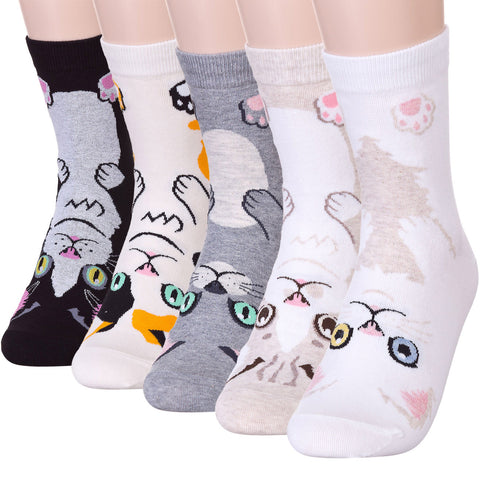 Bow Bow Kitten Socks