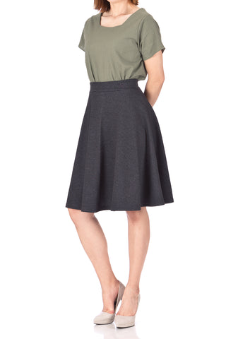 products/Comfy_and_Lovely_Cotton_Blend_Versatile_Casual_Office_High_Waist_A-line_Full_Flared_Swing_Circle_Skater_Knee_Length_Skirt_Charcoal_02.jpg