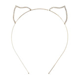 Rhinestone Fox Ear Steel Headband - Dani's Choice