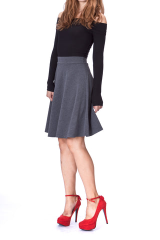products/Simple_Stretch_A-line_Flared_Knee_Length_Skirt_Charcoal_1.jpg