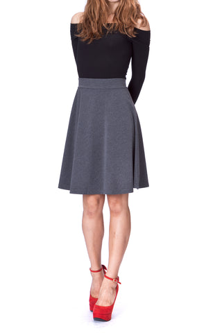products/Simple_Stretch_A-line_Flared_Knee_Length_Skirt_Charcoal_2.jpg