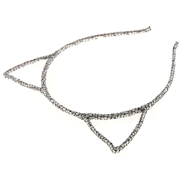 Glitter Cracked Pattern Cat Ear Headband - Dani's Choice