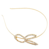 Rhinestone Rabbit Face Steel Headband in Big size - Dani's Choice