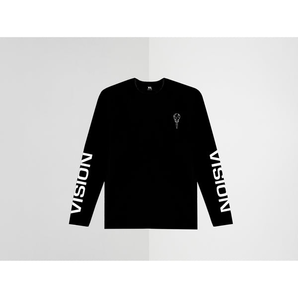 SINCE 1989 - VISION BLACK LONG SLEEVE TEE XL
