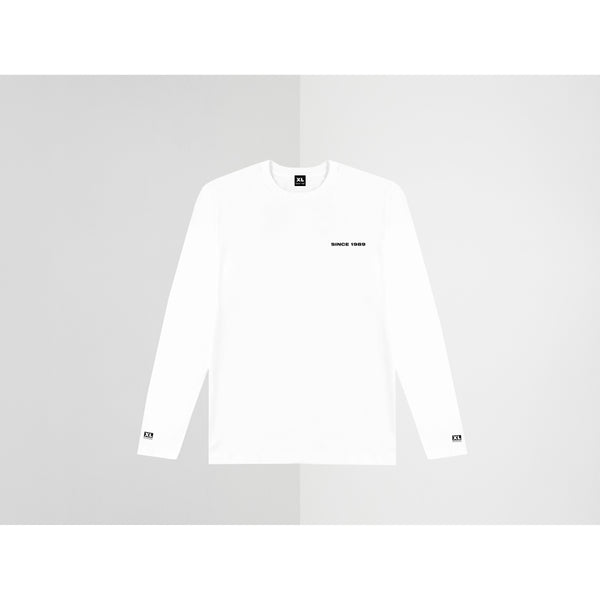 SINCE 1989 - VISION WHITE LONG SLEEVE TEE M