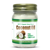 Organic Unrefined Coconut Oil 454g-Absolutely Pure