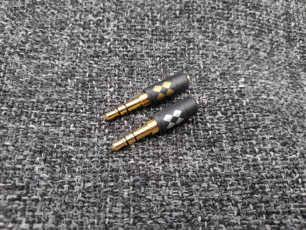 MMCX short headphone adaptors