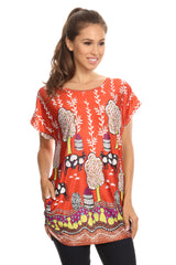 Image of MOST VERSATILE CUTE Designer Tunic Top Blouse
