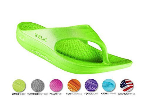 Telic Unisex VOTED BEST COMFORT SHOE Arch Support Recovery Flipflop Sandal +BONUS Pumice Stone $45 Value - Boutiques On Broadway - 5