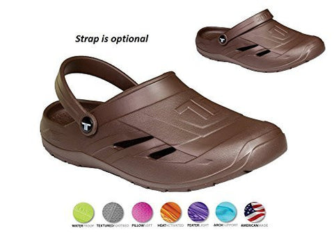 Telic UNISEX VOTED BEST COMFORT SHOE Arch Support Recovery Dream Mule Clog Sandal +BONUS Pumice Stone $55 Value (Made in USA) Machine Washable - Boutiques On Broadway