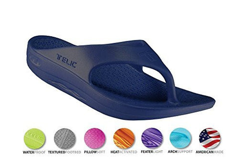 Telic Unisex VOTED BEST COMFORT SHOE Arch Support Recovery Flipflop Sandal +BONUS Pumice Stone $45 Value - Boutiques On Broadway - 3