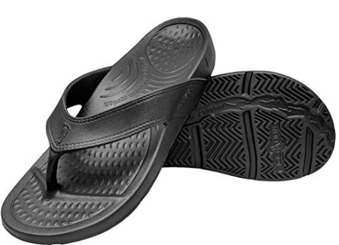 Unisex ArchSupport Flipflops | Pain Relief Comfort Technology BLACK