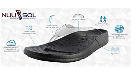 Unisex ArchSupport Flipflops | Pain Relief Comfort Technology BLUE SPRINGS
