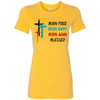 Image of BORN FREE LADIES' TSHIRT