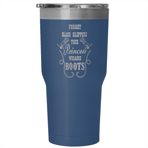 PRINCESS WEARS BOOTS TUMBLER