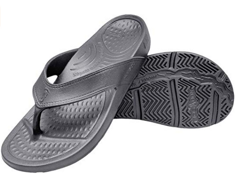 Unisex ArchSupport Flipflops | Pain Relief Comfort Technology GRANITE GRAY