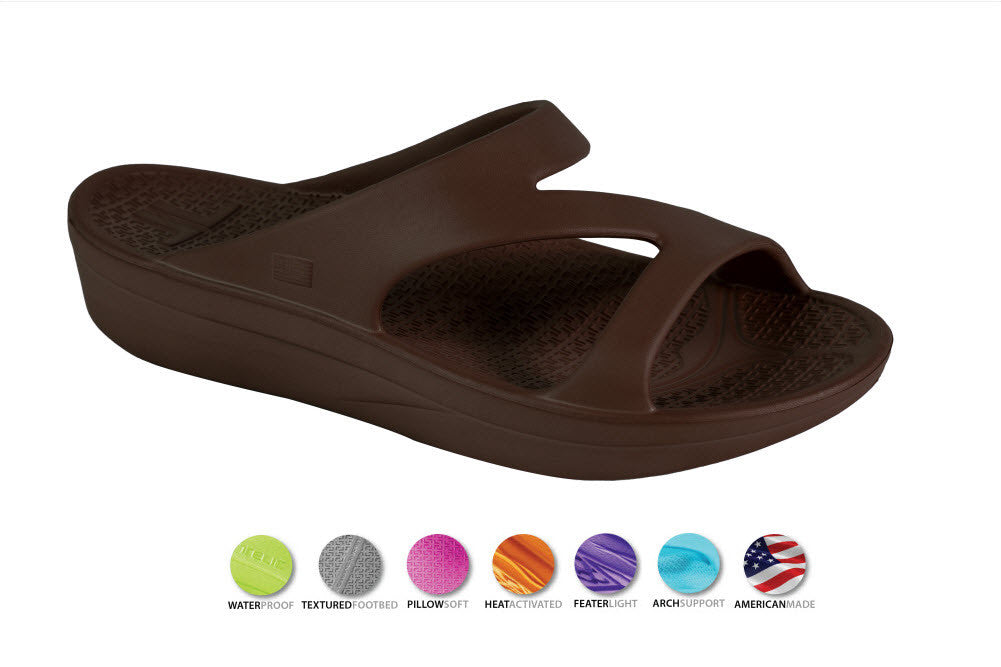 16291486ce5c ... Telic VOTED BEST COMFORT SHOE Arch Support Z-Strap Sandal     Available  in ...
