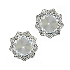 LuxFeet Flip-Flop Jewelry Decorations Charms Conchos Bling Clips Crystal-Rhinestone