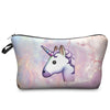 Image of 3D EMOJI UNICORN COSMETIC BAG