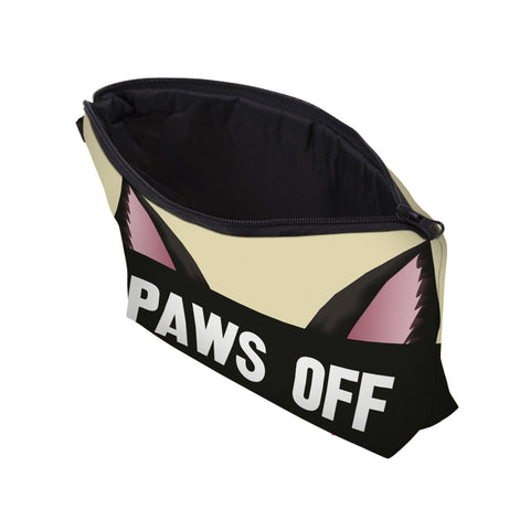 3D CAT EAR PAWS OFF COSMETIC BAG