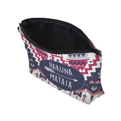 COLORFUL HAKUNA MATATA COSMETIC BAG