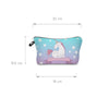 Image of ALWAYS BE A UNICORN COSMETIC BAG