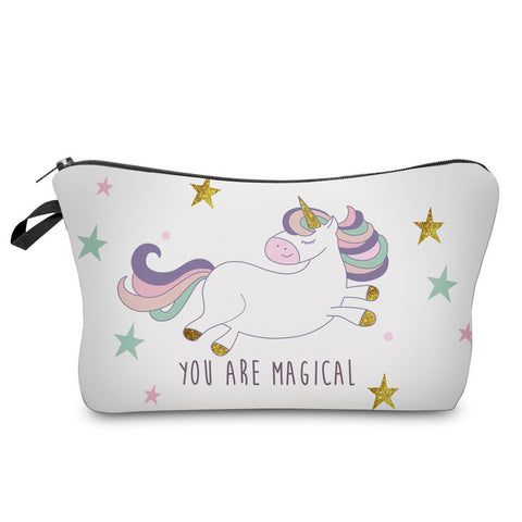 3D YOU ARE MAGICAL UNICORN COSMETIC BAG