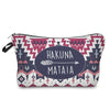 Image of COLORFUL HAKUNA MATATA COSMETIC BAG