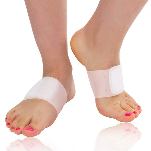 Comfortable Elastic Silica Gel for flat foot High Arches