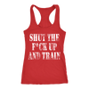 Image of SHUT UP AND TRAIN LADIES' TANK