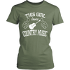 Image of COUNTRY MUSIC LADIES' T-SHIRT