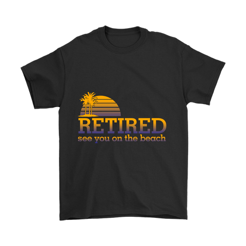 RETIRED MEN'S T-SHIRT