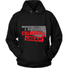 Image of CRIMSON CREAM UNISEX HOODIE