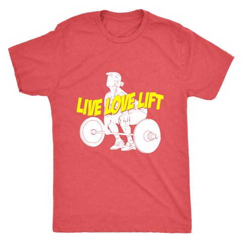 LIVE LOVE LIFT MEN'S T-SHIRT