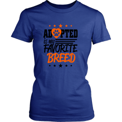 ADOPTED LADIES' T-SHIRT