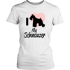 Image of SCHNAUZER LADIES' T-SHIRT