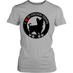 YORKIE LADIES' T-SHIRT