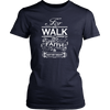 Image of WALK BY FAITH LADIES' T-SHIRT