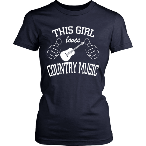 COUNTRY MUSIC LADIES' T-SHIRT