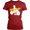 Image of LIVE LOVE LIFT LADIES' T-SHIRT