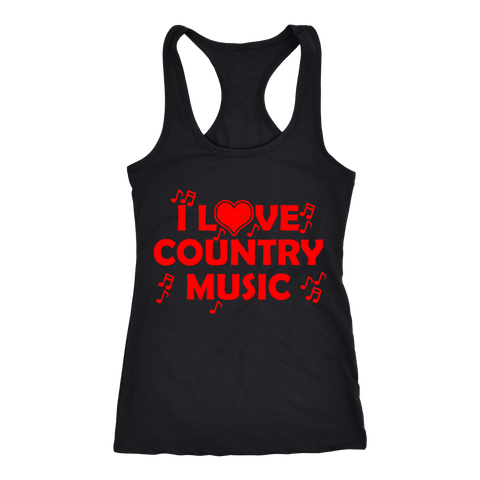 COUNTRY MUSIC LADIES' TANK