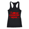 Image of COUNTRY MUSIC LADIES' TANK