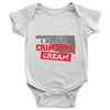 Image of INFANT CRIMSON AND CREAM ONSIE