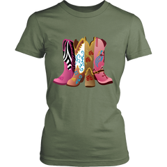 BOOTS LADIES T-SHIRT