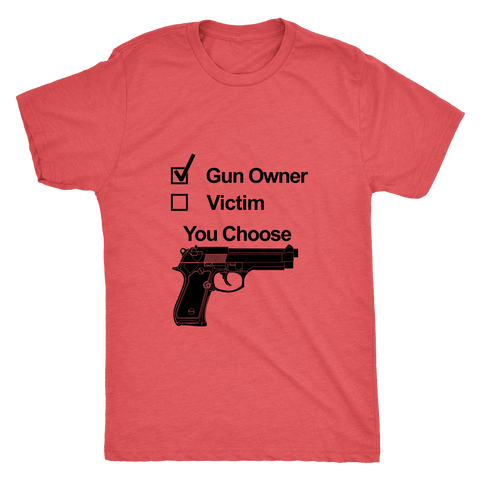 GUN OWNER MEN'S T-SHIRT