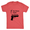 Image of GUN OWNER MEN'S T-SHIRT